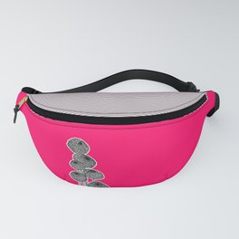 Rounded Flower Fanny Pack