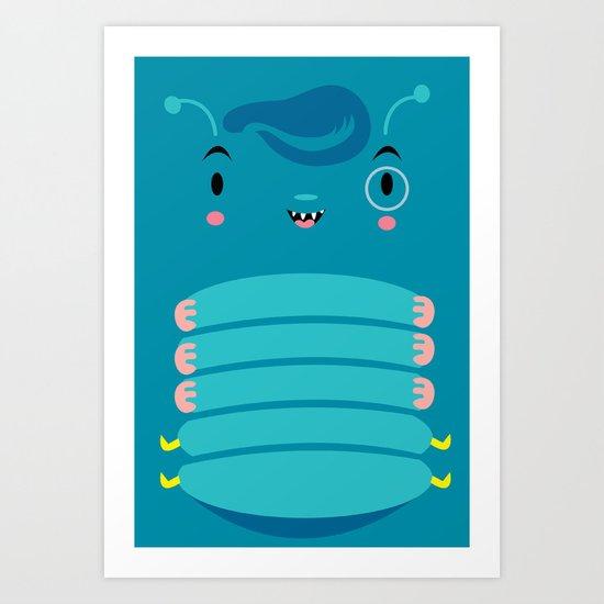 Oruga Art Print