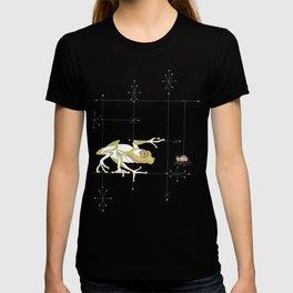 Whimsical Frog & Spider T-shirt