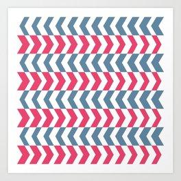 ArrowStripes Art Print
