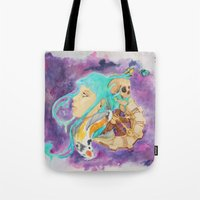 health Tote Bags featuring Mental Health by Symbiosis