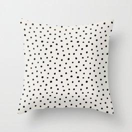 Perfect Polka Dots Throw Pillow
