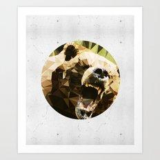 Ursus Arctos Art Print