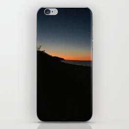 Dark sunset iPhone Skin