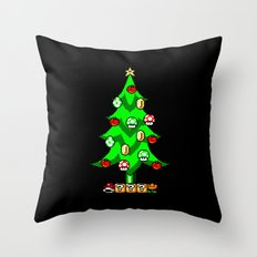 Xmas Games Throw Pillow