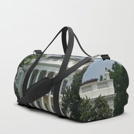 South Portico of the White House Washington DC Duffle Bag