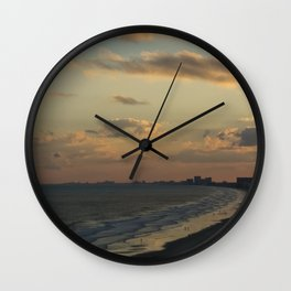 NMB Sunset Wall Clock