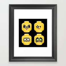 Block 'n' Roll Framed Art Print
