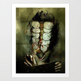 The Theorist Art Print