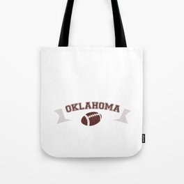 Just a Baller from Oklahoma Football Player Tote Bag