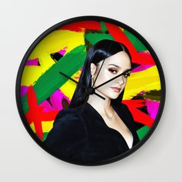 Kehlani - Celebrity Art Wall Clock