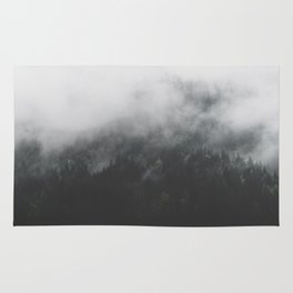 Spectral Forest II - Landscape Photography Rug