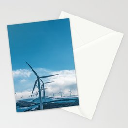 The Wind Farm (Color) Stationery Cards