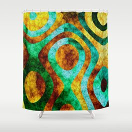 Leaves III Shower Curtain