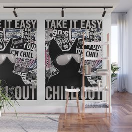 Take it Easy, Chill Out Wall Mural