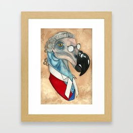 The Honourable Judge Dodo Framed Art Print