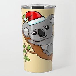 Koala Panda Bear Funny Christmas Travel Mug
