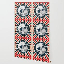 John F Kennedy Cigar and Sunglasses Wallpaper
