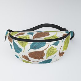 Ginkgo Leaves Fanny Pack