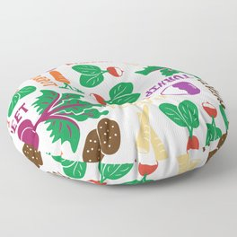The Roots of All Gardens Floor Pillow