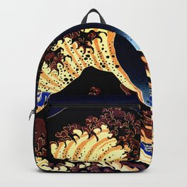 The GREAT Wave Midnight Blue Brown Backpack
