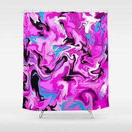 Fluidity Shower Curtain