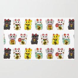 Lucky Cat / Maneki Neko Rug
