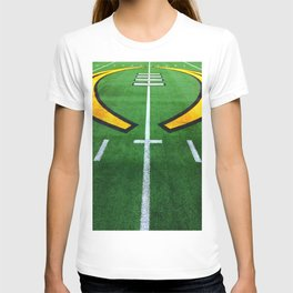 Rugby playing field T-shirt
