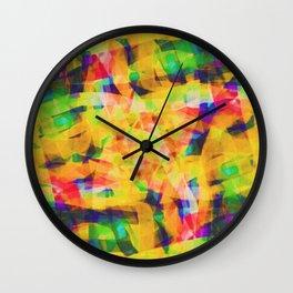 Abstract XXXIV Wall Clock