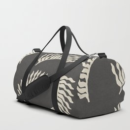 When the leaves become wings - Gray and beige Duffle Bag