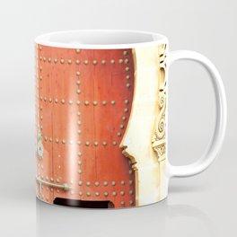Red Morccan Door Coffee Mug