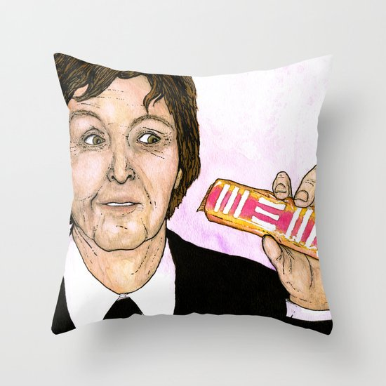 """NEW"" by Cap Blackard Throw Pillow"