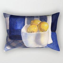 Still Life with Lemons Rectangular Pillow