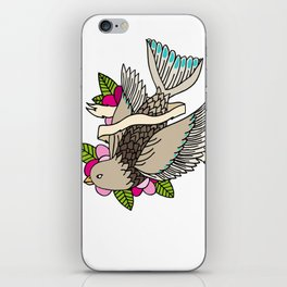 The world is a small place after all. iPhone Skin