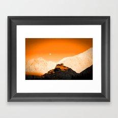 Mountain City Framed Art Print