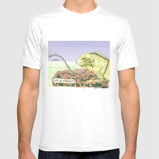 We're Chained MEDIUM Mens Fitted Tee White