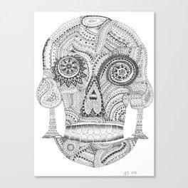 Sugar Skull 2.0 Canvas Print