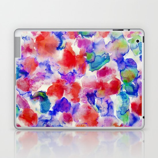 Amaris Blue Laptop & iPad Skin