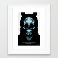 donnie darko Framed Art Prints featuring Donnie Darko by Duke Dastardly