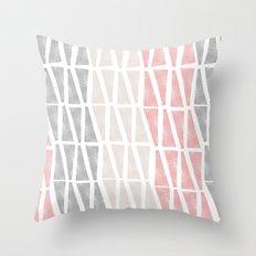 Sponge Print Throw Pillow