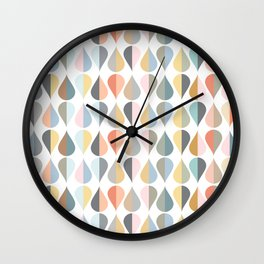 AFE Tear Drops Wall Clock