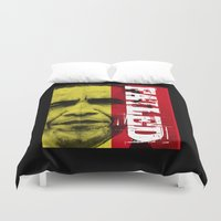 obama Duvet Covers featuring Obama Has Failed by politics