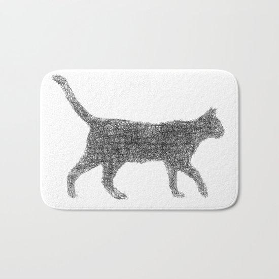 Dust kitten Bath Mat