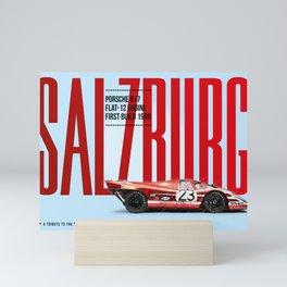 917 Salzburg Tribute Mini Art Print