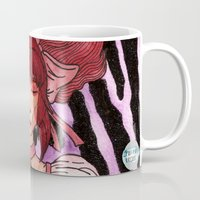 madoka Mugs featuring Madoka Vers. 2 by Jazmine Phillips