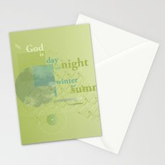 God is #everyweek 5.2017 Stationery Cards