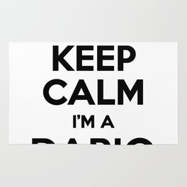 I cant keep calm I am a DARIO Rug