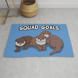 Otter Squad Goals Rug