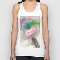 guitar Tank Tops featuring guitar by Ale Pinto Soffia