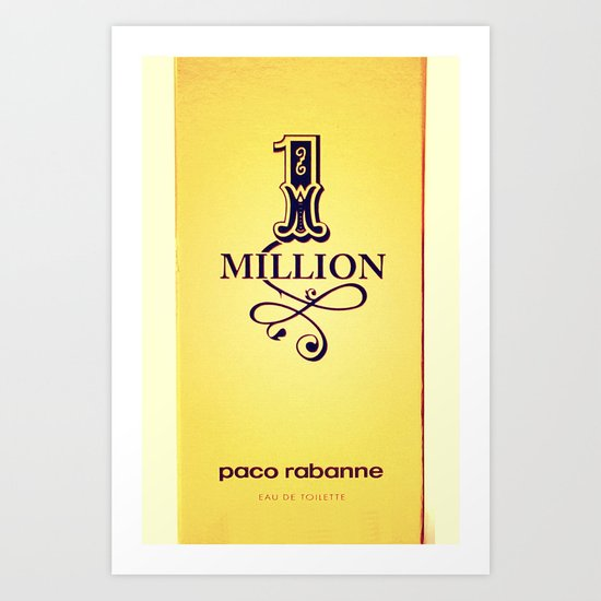 1 million Art Print